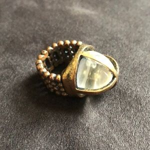 Jewelry - Steampunk style stretch ring